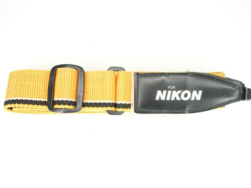 For Nikon Yellow / Black / White Camera Neck Strap #2
