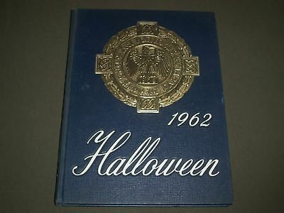 1962 HALLOWEEN ALL HALLOWS INSTITUTE YEARBOOK - BRONX, NEW YORK - YB - College University Halloween