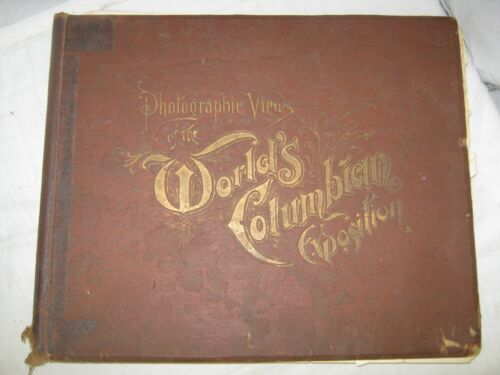 """1893 """"Photographic Views of the World"""