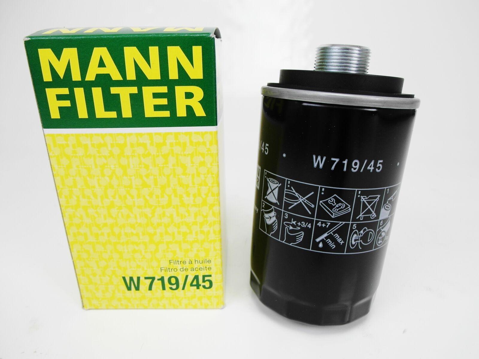 F/ür PKW Original MANN-FILTER /Ölfilter W 719//45