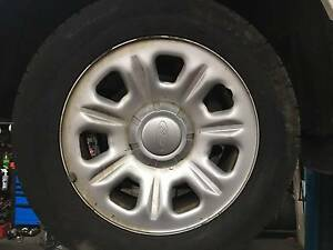 Ford Territory wheels 17inch Williamstown North Hobsons Bay Area Preview