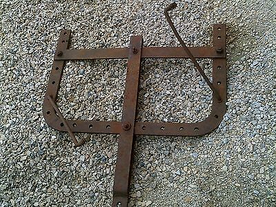 Farmall F20 Tractor Nice Original Ih Ihc Wish Bone Wishbone Drawbar Brackets