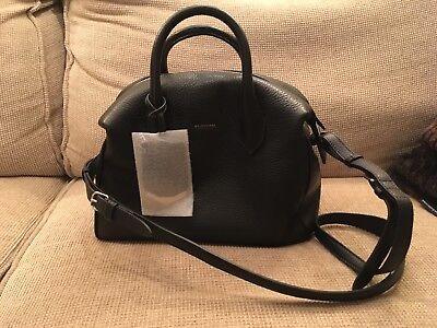 Black Leather Balenciaga Bag