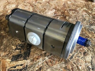 New Genuine Jcbparker Hydraulic Triple Pump 20905100 Made In Eu