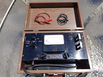Vintage Automatic Dynamics Corp Qc 101 Serial 101 Low Resistance Tester