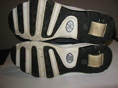 Heelys Shoes Wheels - Heelys 7856 MEN'S FATTY WHEELS SHOES Swift CLEAN Navy/Silver/Black/White, Sz 12