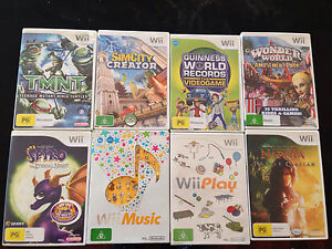 Wii games (various titles) Belmont Belmont Area Preview