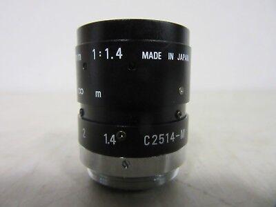 Pentax C2514-M 1:1.4 25mm TV Lens Objektiv
