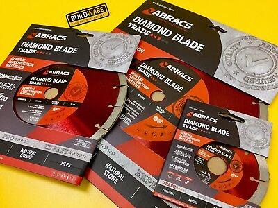 Abracs Diamond Trade Blade For General Construction Materials
