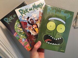 Brand new Ricky and Morty dvd season 1-3