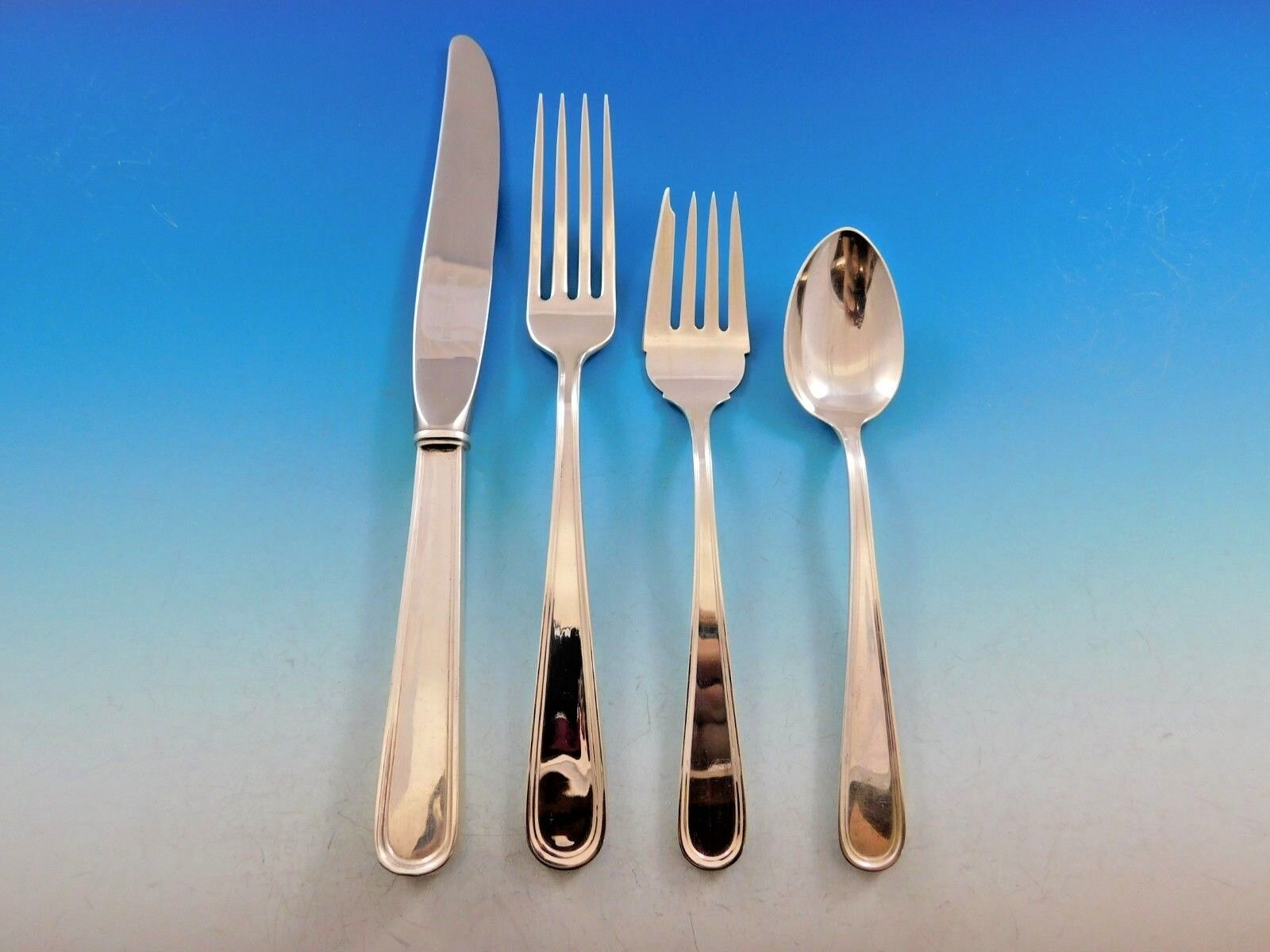 "Calvert by Kirk Sterling Silver Regular Fork 7 3//8/"""
