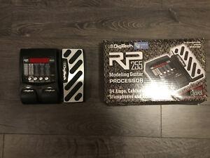 Digitech RP 255 Guitar Effects Processor