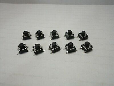 10x Pack Lot 6 X 6 X 6 Mm Push Touch Tactile Momentary Micro Button Switch Smd