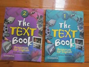 The Text Book 1 Book 1: Resources for English the Text Book 2 Northbridge Willoughby Area Preview