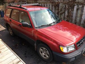 2000 Subaru Forester as is