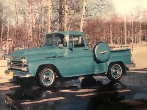Looking For 1958 Chev Apache