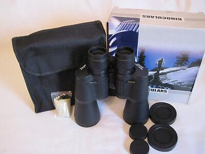 Fernglas 20x50 Jäger Feldstecher Binoculars mit Tasche Fernrohr Jagdfernglas NEU