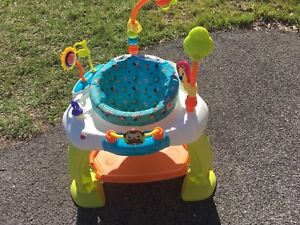 Baby Exersaucer Play Area