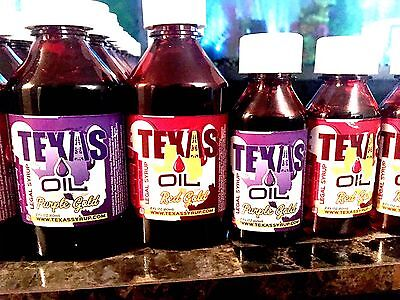 Texas Syrup Legal Lean Red Gold