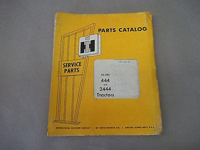 International Harvester 444 And 2444 Tractors Parts Catalog  Tc-125
