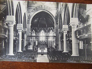 COWES,  ST MARY'S AND HOLY TRINITY  IN COWES, ISLE OF WIGHT, R/PHOTO/POSTCARD