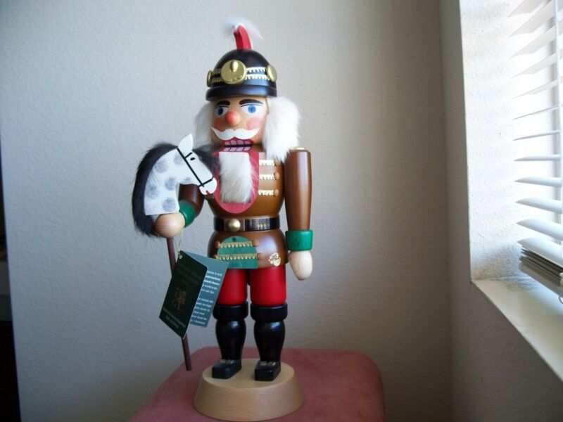 Straco or Richard Glaesser Germany Nutcracker Rare Retired 15 Inches
