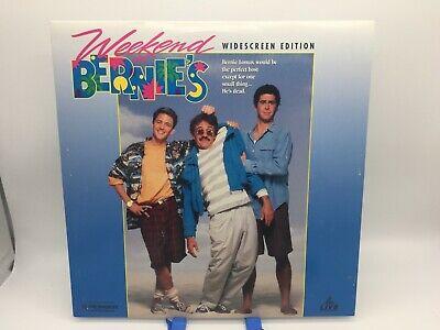 """Weekend at Bernie's"" Widescreen Laserdisc LD - Andrew McCarthy"