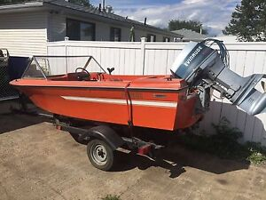 Evinrude Boat and Trailer