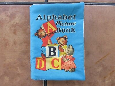 Abc Quiet Book (Alphabet Picture Book ABC Bear Drum Eggs  Handmade Soft Quiet Fabric Story)