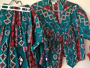 Square Dancing Woman's tops & skirts