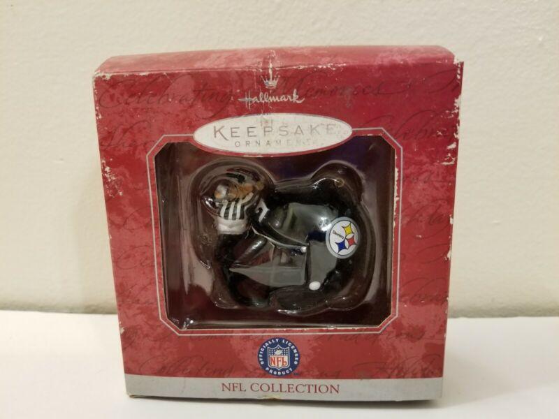 Pittsburgh Steelers NFL Hallmark Keepsake Helmet Ornament, 1998 Collection, NOS!