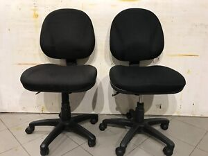 2 good condition adjustable office chairs ($40 for each)