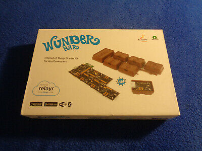Wunderbar Internet Of Things Wifi Bluetooth Sensor Starter-kit - Rare -sealed
