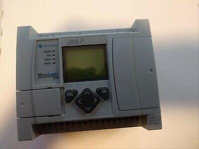 Allen Bradley Micrologix 1100 16 Point Controller 1763-l16awa