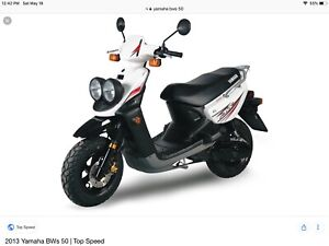 Wanted 50 cc scooter