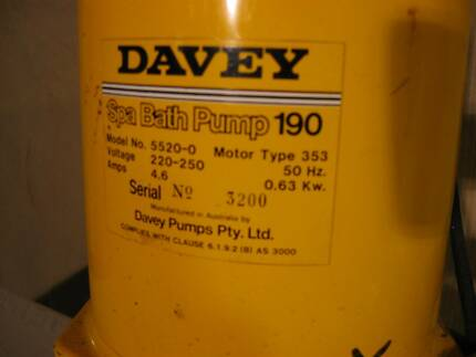 Spa Bath Pump