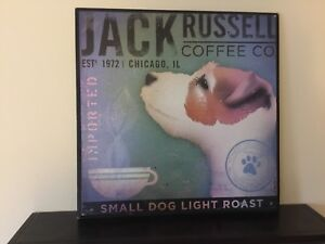 Jack Russell Coffee Co. Plaque