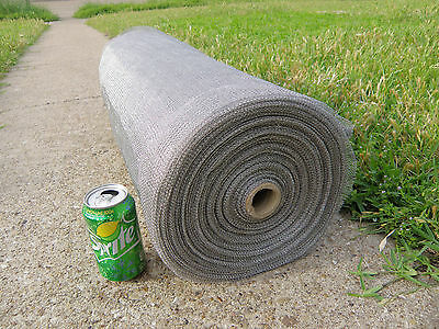 42 Lbs High Grade Non Magnetic Fine Stainless Steel Mesh Roll - Industrial Uses