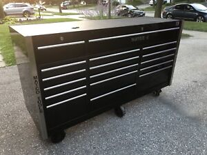 Like new Matco toolbox. GREAT CONDITION