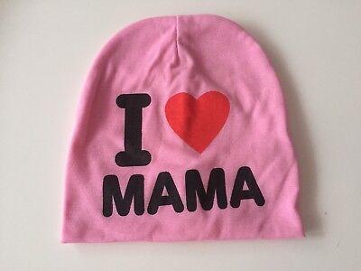 I Love Mama  Baby Mütze 74/80 gebraucht kaufen  Rosenheim