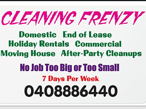 CLEANING FRENZY Victor Harbor Victor Harbor Area Preview