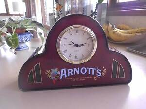 Arnott's  biscuit tin with Clock Campbell North Canberra Preview