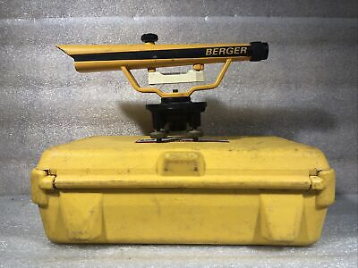 Berger Instruments Model 135 Transit Level With Hard Case