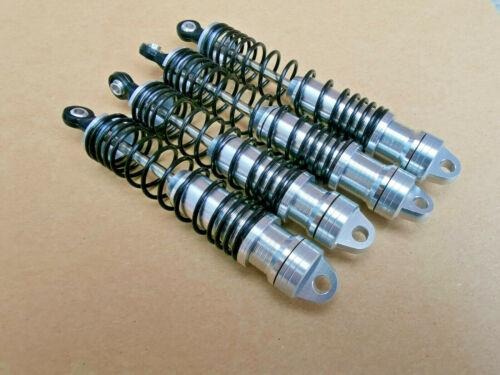 Aluminum Big Bore Shocks for LOSI 1/10 BAJA REY Silver
