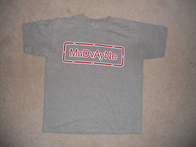 MUDVAYNE Rock Band Shirt Gray Large Rock and Roll Heavy Metal Head Banger  Music