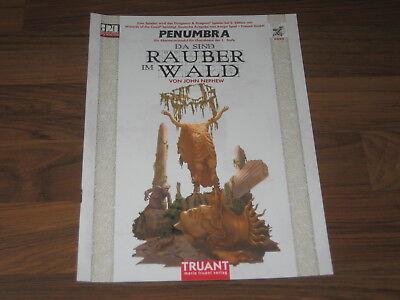 D&D  3.5 / d20 Penumbra Da sind Räuber im Wald Abenteuer SC Truant 2001 Neu