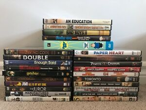 25 assorted DVDs - $20 for the lot