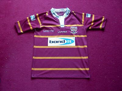 Kooga Huddersfield Giants Rugby League Shirt/top/jersey/size youth