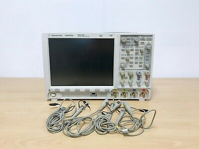 Agilent Dso7104b 1ghz 4gss 4ch Oscilloscope With 10073d Probes