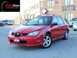 2006 Subaru Impreza 2.5 i AWD Accident Free One Owner